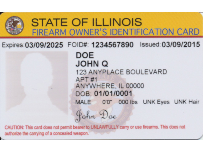 picture about Illinois Foid Card Application Printable known as Chicago Guns Make any difference - Getting to be a Gun Proprietor in just Illinois